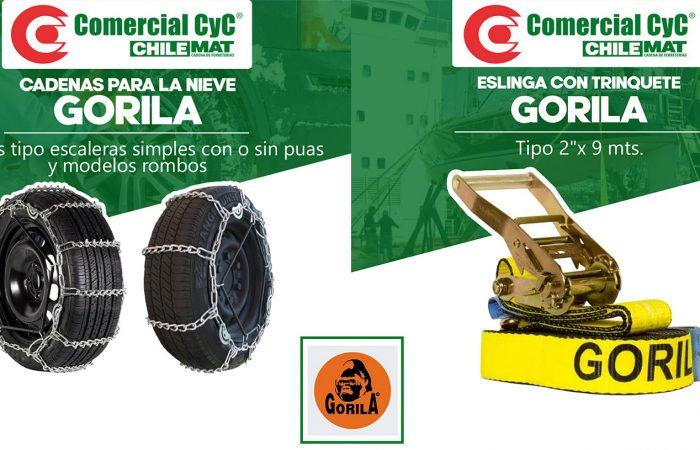 Productos GORILA
